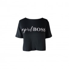 CROPPED GIRL BOSS